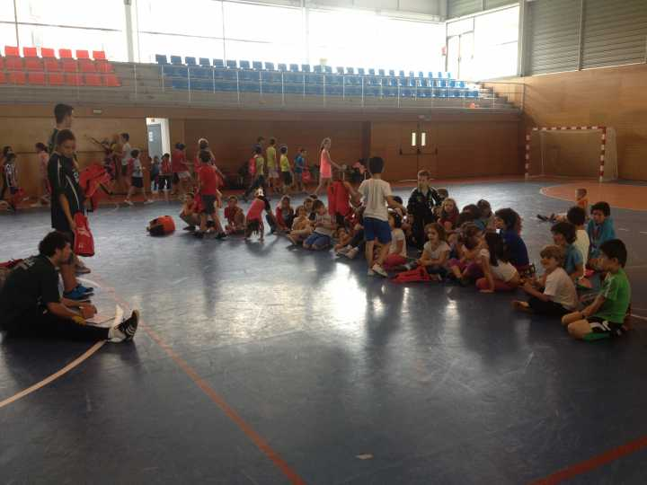 Campus OAR Balonmano 2014