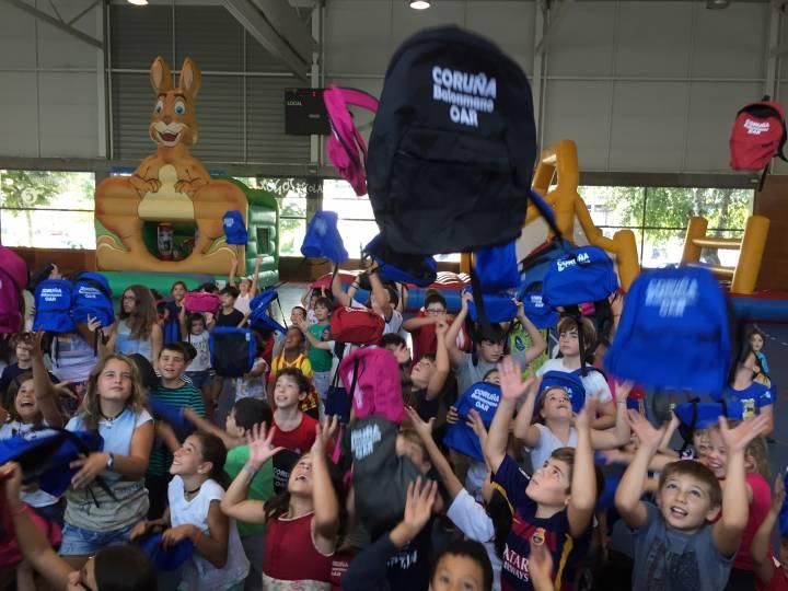 EL CAMPUS DE VERANO DEL OAR CORUÑA bate su récord de continuidad. Desde el 26 de junio hasta el 7 de septiembre.