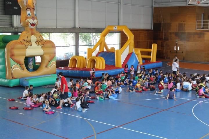 FIESTA FIN DE CAMPUS PARA 400 NIÑOS EN SAN FCO JAVIER. Viernes 8 de septiembre de 9 a 14 horas.