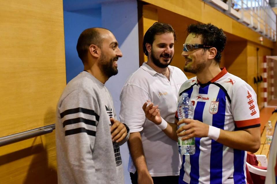 GABRIEL TEIXEIRA DE MELO, de vuelta al OAR CORUÑA, ayudando al equipo cuando más se le necesita.
