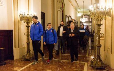 Fotos de la presentación del INVESTO OAR CORUÑA. AYUNTAMIENTO DE A CORUÑA. 19.11.18