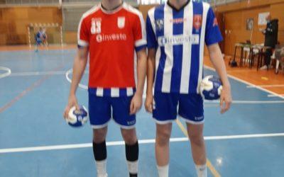 Los hermanos PEREIRA, comenzaron la LIGA con 5 goles cada uno frente a Lanzarote.